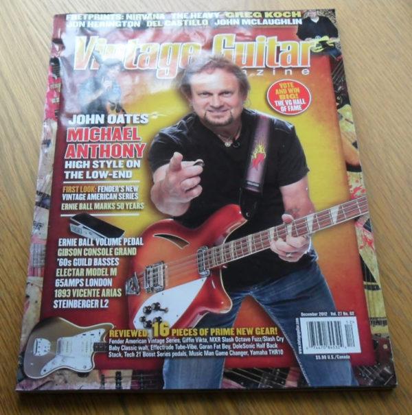 Vintage Guitar December 2012
