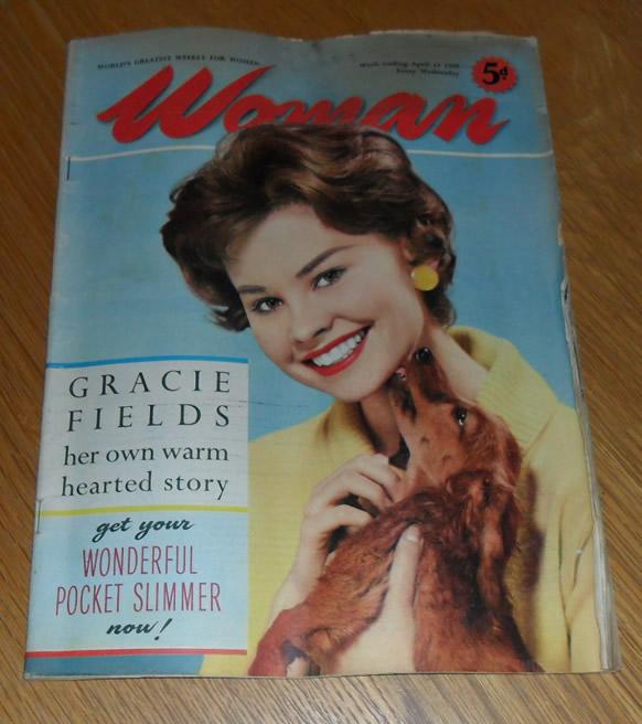 Woman Magazine, April 11th 1959
