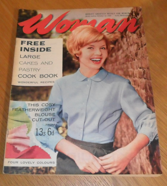 Woman Magazine, October 15th 1960