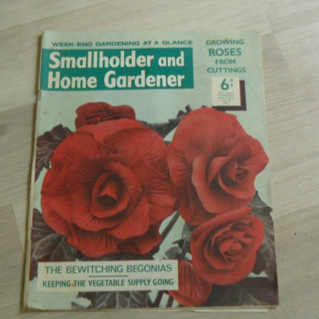 Smallholder and Home Gardener Magazine July 20th 1963