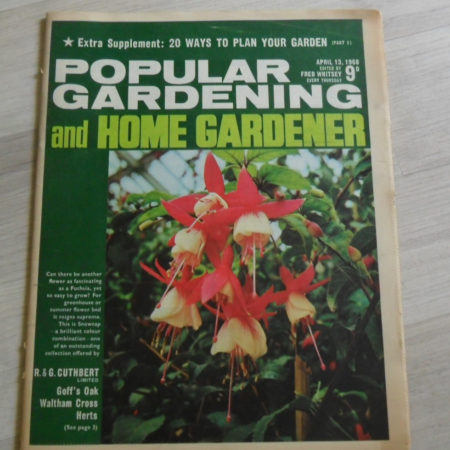 Popular Gardening & Home Gardener April 13th 1968