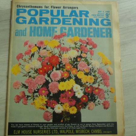Popular Gardening & Home Gardener May 4th 1968