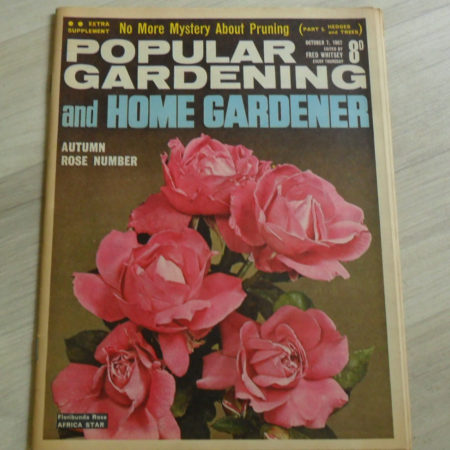 Popular Gardening & Home Gardener October 7th 1968