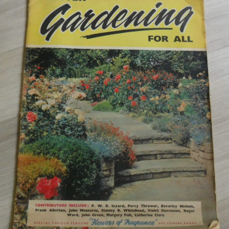 Better Gardening For All Magazine (Daily Mail) 1961